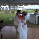 Jessica and Nick Drew tie the knot